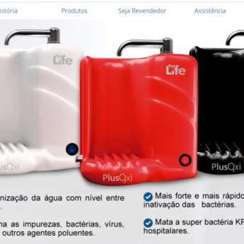 Comprar o produto de PLUSOXI (Linha Ozônizada) Água Natural Purificador com a tecnologia do Ozônio e Alcalino em Outras Marcas em Botucatu, SP por Solutudo