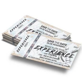 Comprar o produto de Ingressos de Segurança em Gráficas e Impressão pela empresa Plotprint Gráfica Express em Atibaia, SP por Solutudo