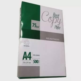 Comprar o produto de Sulfite Best Copy A4 em Cadernos e Papéis pela empresa Eloy Festas em Jundiaí, SP por Solutudo