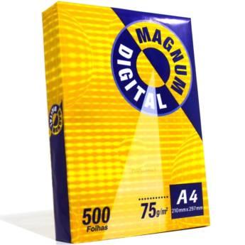 Comprar o produto de Sulfite Magnum Digital A4 em Cadernos e Papéis pela empresa Eloy Festas em Jundiaí, SP por Solutudo