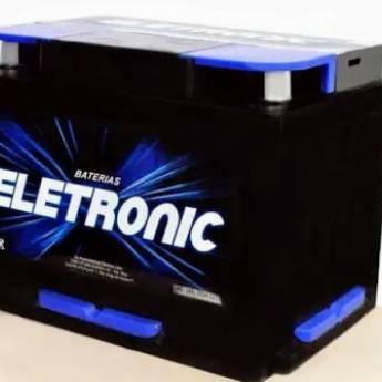 Comprar o produto de Bateria 60AH ELETRONIC em Baterias em Botucatu, SP por Solutudo