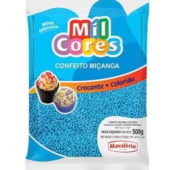 Comprar o produto de Confeito Miçanga Azul Mavalério em Alimentos e Bebidas pela empresa Eloy Festas em Jundiaí, SP por Solutudo