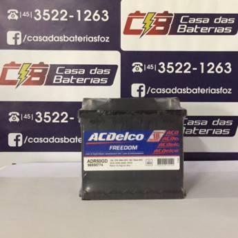 Comprar o produto de Bateria Acdelco ADR50GD  em Baterias em Foz do Iguaçu, PR por Solutudo