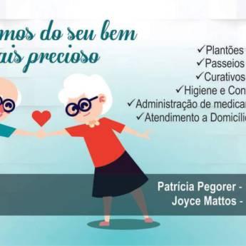 Comprar produto Cuidamos do seu bem mais precioso em Outros Serviços pela empresa Patrícia Pegorer  - Auxiliar de Enfermagem em Botucatu, SP