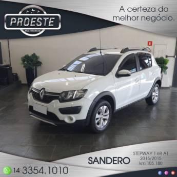 Comprar o produto de SANDERO STEPWAY 1.6R AUTO. em Concessionárias em Botucatu, SP por Solutudo