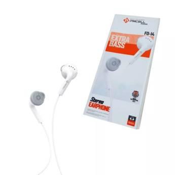 Comprar o produto de Fone De Ouvido Pmcell Fo14 Original Fo-14 Intra Auricular em Fones de Ouvido em Botucatu, SP por Solutudo