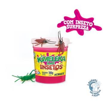 Comprar produto KIMELEKA SLIME - INSETOS 180grs em Brinquedos e Hobbies pela empresa A Colegial Papelaria em Botucatu, SP