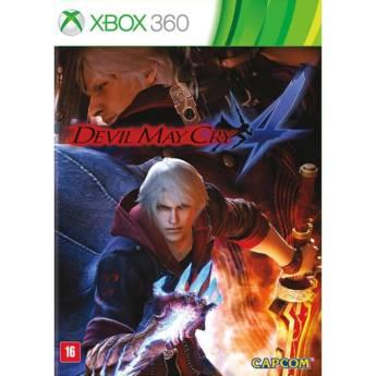 Comprar o produto de Devil May Cry 4 - XBOX 360 em Jogos Novos pela empresa IT Computadores, Games Celulares em Tietê, SP por Solutudo
