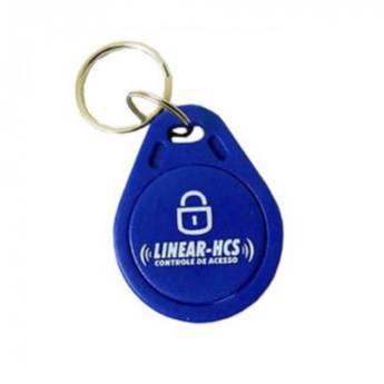 Chaveiro de Proximidade KHZ Azul Nice Linear HCS