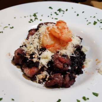 Comprar o produto de Arroz Negro com Frutos do Mar  em Restaurantes em Americana, SP por Solutudo