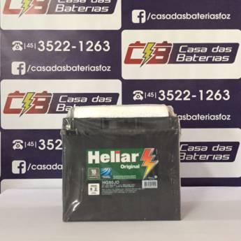 Comprar o produto de Bateria Heliar HG50JD em Baterias Automotivas em Foz do Iguaçu, PR por Solutudo