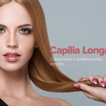 Comprar o produto de Capilia Longa - solução capilar - 30ml  em Produtos de Cabelo em Atibaia, SP por Solutudo
