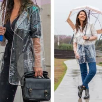 Comprar o produto de Capa de chuva transparente em Outros pela empresa Loja Ego - Moda Feminina Multimarcas em Botucatu, SP por Solutudo
