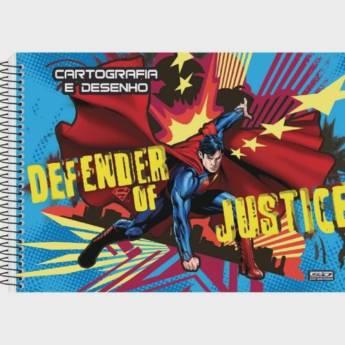 Comprar o produto de Caderno de desenho e cartografia Defender Justice São Domingos em Papelarias em Jundiaí, SP por Solutudo