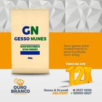 Comprar o produto de Saco de Gesso em Revestimento de Parede em Foz do Iguaçu, PR por Solutudo