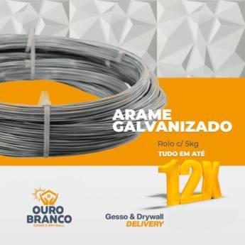 Comprar o produto de Arame Galvanizado em Revestimento de Parede em Foz do Iguaçu, PR por Solutudo
