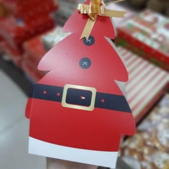 Comprar o produto de caixa para panetone cod: 90474 em Artigos de Natal em Foz do Iguaçu, PR por Solutudo