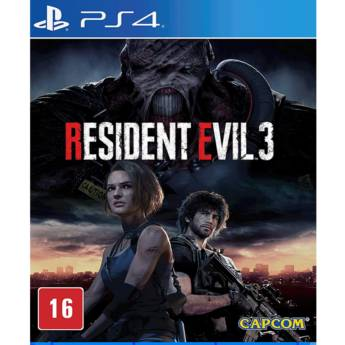 Comprar o produto de Resident Evil 3 - PS4 em Jogos Novos pela empresa IT Computadores, Games Celulares em Tietê, SP por Solutudo