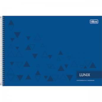 Comprar o produto de Caderno de desenho e cartografia Lunix em Papelarias em Jundiaí, SP por Solutudo