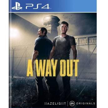 Comprar o produto de A Way Out - PS4 em Jogos Novos pela empresa IT Computadores, Games Celulares em Tietê, SP por Solutudo