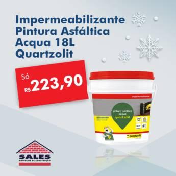 Comprar o produto de Impermeabilizante pintura asfáltica Acqua 18Lts em Construção em Botucatu, SP por Solutudo