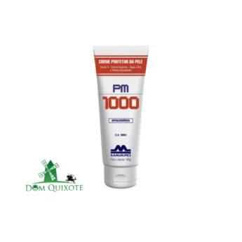 Comprar o produto de Creme Protetor PM 1000 - 120g em Cremes e protetor solar pela empresa Dom Quixote Equipamentos de Proteção Individual em Jundiaí, SP por Solutudo