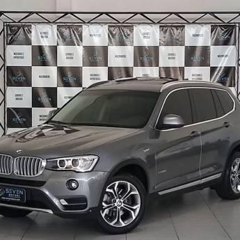 BMW X3 – 2.0 20I 4X4 16V GASOLINA 4P AUTOMÁTICO 2014/2015 em Botucatu, SP por Seven Motors Concessionária
