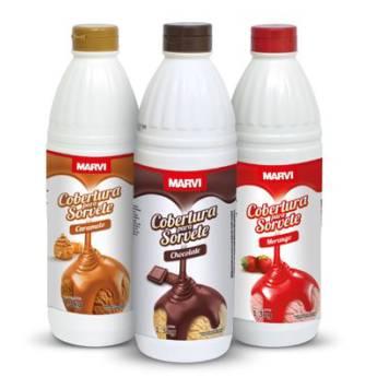 Comprar o produto de Cobertura Líquida Marvi em Alimentos e Bebidas pela empresa Eloy Festas em Jundiaí, SP por Solutudo