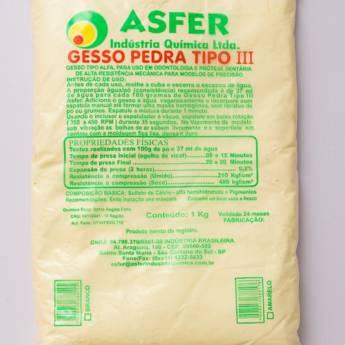 Comprar o produto de Gesso pedra tipo III em Saúde pela empresa Total Segurança em Mineiros, GO por Solutudo