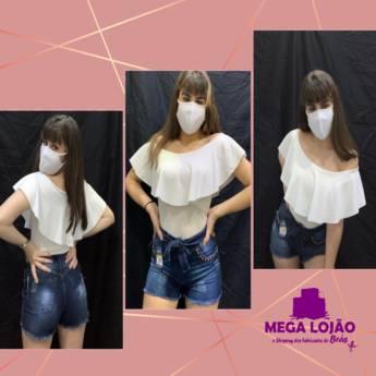 Comprar o produto de Body e Short em Moda Feminina em Jundiaí, SP por Solutudo