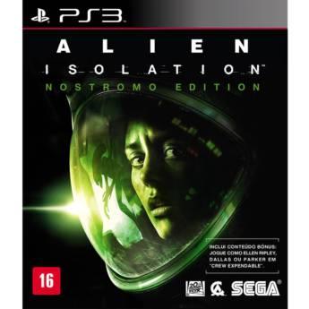 Comprar o produto de Alien Isolation: Nostromo Edition - PS3 em Jogos Novos pela empresa IT Computadores, Games Celulares em Tietê, SP por Solutudo