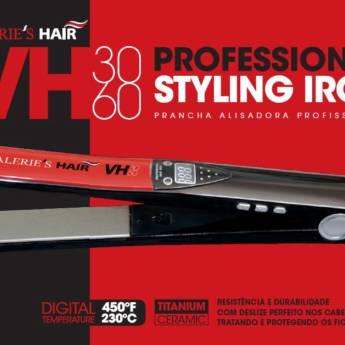 Comprar o produto de Prancha/ Chapinha /Piastra Profissional Valerie'S Hair VH3060 bivolt em Valeries Hair em Araçatuba, SP por Solutudo