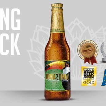 Comprar o produto de Amazônia Brazilian Beer em Cervejas em Atibaia, SP por Solutudo