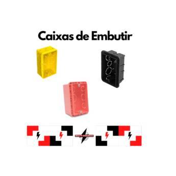 Comprar o produto de Caixa de Embutir em Materiais Elétricos pela empresa Multi Energia Instalações e Materiais Elétricos  em Atibaia, SP por Solutudo