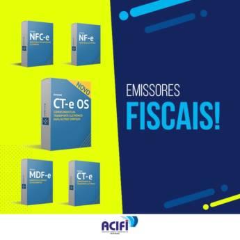 Comprar produto Emissores de Nota Fiscal  em Negócios pela empresa ACIFI - Associação Comercial e Industrial de Foz do Iguaçu em Foz do Iguaçu, PR