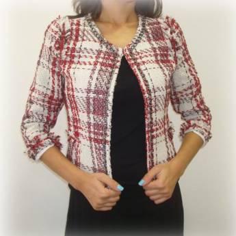Comprar o produto de Casaco tweed ch E-ZONE em Roupas e Acessórios pela empresa Loja Ego - Moda Feminina Multimarcas em Botucatu, SP por Solutudo