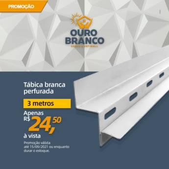 Comprar o produto de Tabica Perfurada em Gesso em Foz do Iguaçu, PR por Solutudo