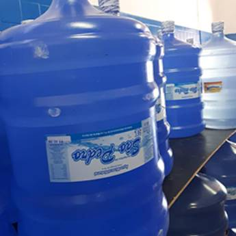 Comprar produto Água Mineral de 10 e 20 Litros São Pedro  em Águas Minerais pela empresa Só Agudos Distribuidora de Bebidas em Americana, SP