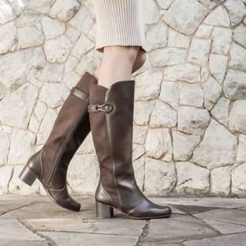 Comprar o produto de Promoção de Botas 20% OFF em Feminino pela empresa Lojas Conceito Confecções e Calçados - Vestindo e Calçando Toda a Família em Atibaia, SP por Solutudo