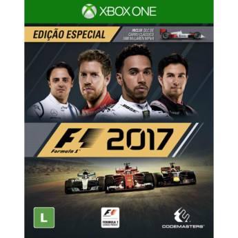 Comprar o produto de F1 2017 - XBOX ONE em Jogos Novos pela empresa IT Computadores, Games Celulares em Tietê, SP por Solutudo