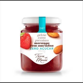 Comprar o produto de Morango com Amêndoa em Diet /0% açúcar em Atibaia, SP por Solutudo