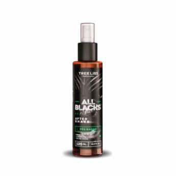 Comprar o produto de After Shave Pós Barba All Blacks Mentol, Lanolin, Aloe Vera da Tree liss 120 ml em Pós Barba em Araçatuba, SP por Solutudo