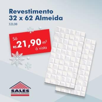 Comprar o produto de Revest. 32 x 62 32L08 - Almeida em Construção em Botucatu, SP por Solutudo