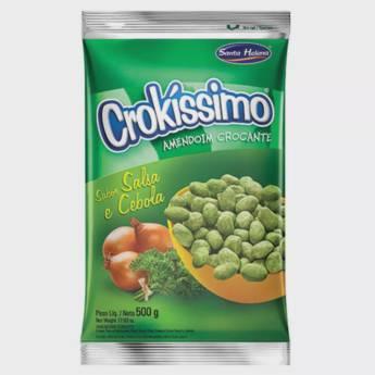 Comprar o produto de Amendoim Crokíssimo Santa Helena em Alimentos e Bebidas pela empresa Eloy Festas em Jundiaí, SP por Solutudo