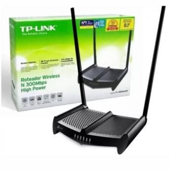 Comprar o produto de Roteador Tp-Link Tl-Wr841Hp 300Mbps em Novos pela empresa Multi Consertos - Celulares,  Informática e Vídeo Games em Botucatu, SP por Solutudo