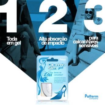Comprar o produto de Calcanheira Slim Gel em Outros Produtos em Atibaia, SP por Solutudo