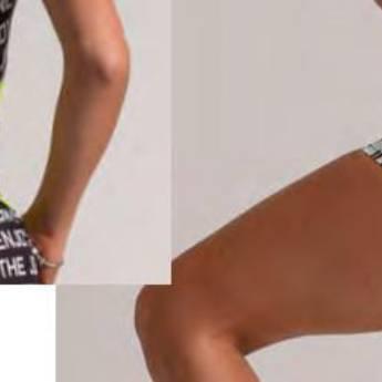Comprar o produto de Shorts fullprint elástico personalizado BOOQ em Roupas e Acessórios pela empresa Loja Ego - Moda Feminina Multimarcas em Botucatu, SP por Solutudo