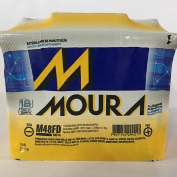 Comprar o produto de Bateria Moura M48FD - 48AH em Baterias pela empresa Casa das Baterias em Foz do Iguaçu, PR por Solutudo