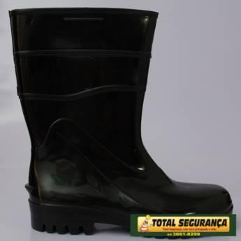 Comprar o produto de Bota borracha Preta  em Calçado de Segurança em Mineiros, GO por Solutudo