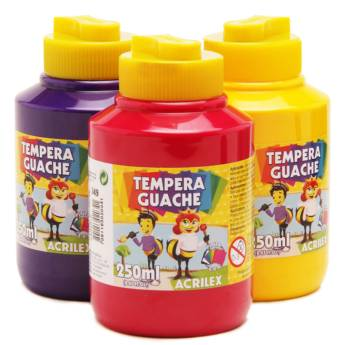Comprar o produto de Tinta Guache Acrilex 250 em Canetas, Lápis e Afins pela empresa Eloy Festas em Jundiaí, SP por Solutudo